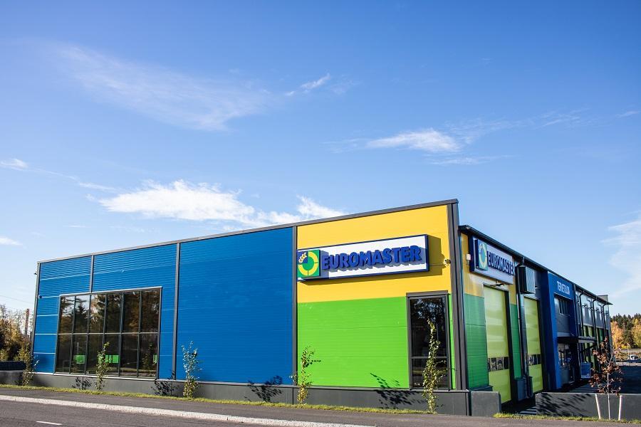 Euromaster Oy:n tilat, Vantaa